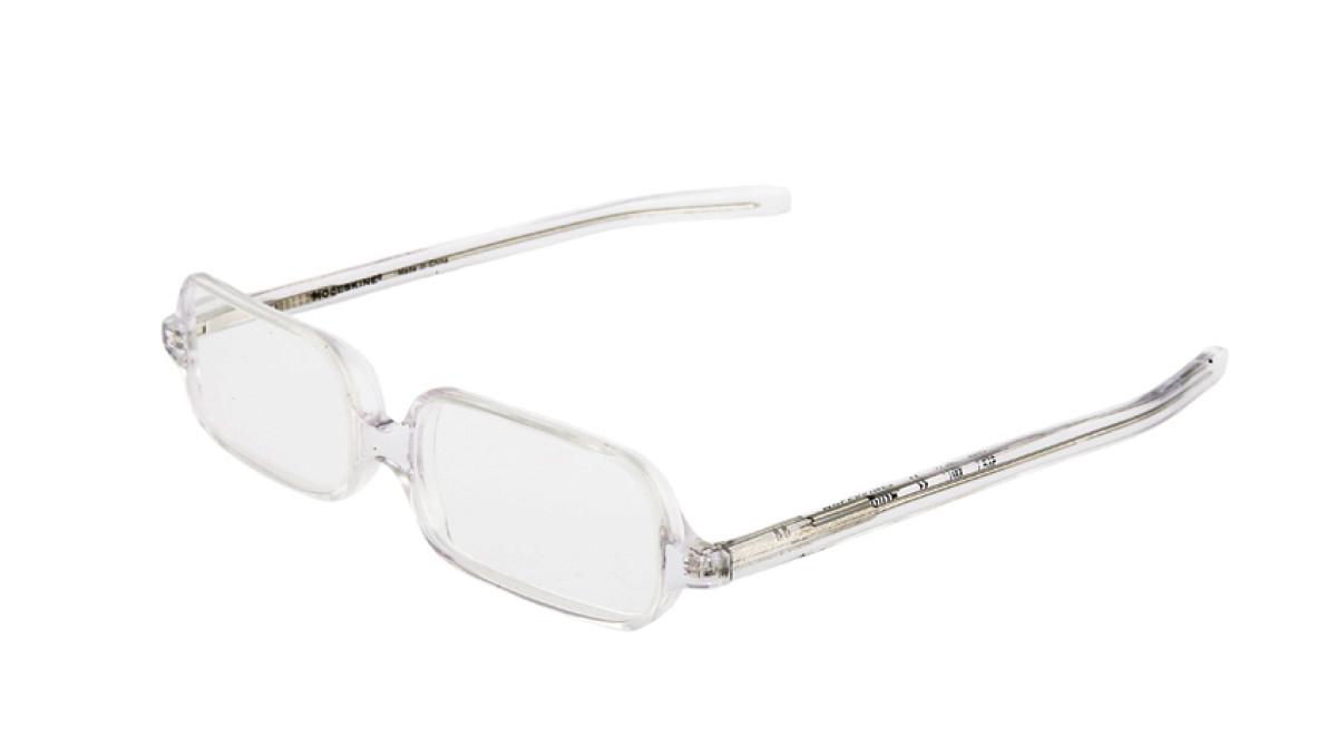reading glasses transparent 3 moleskine shop